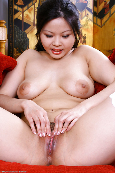 Alluring Japanese number 1 timer Ayane revealing just right youngster titties