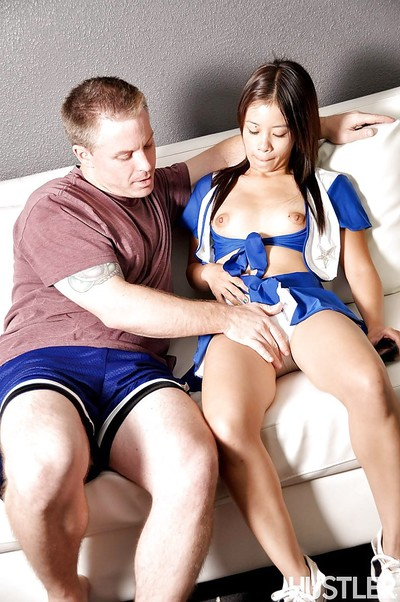 Close up porn deed featuring hardcore fuck of Japanese youthful Asia Zo