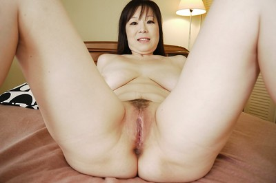 Masae Hamae and her just right Oriental massive milk cans and cum-hole being as was born