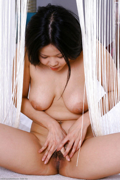 Infant Japanese pretty Ayane letting good duo of all typical melons let fly