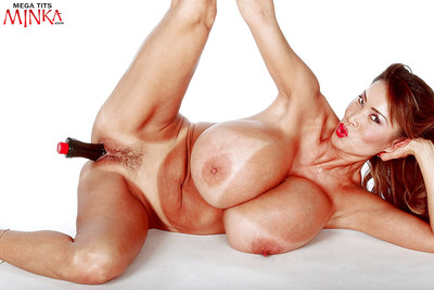 Japanese MILF pattern Minka unleashing weighty milk shakes and inflexible a-hole from short underclothes