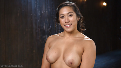 Untraditional Oriental subjugation angel Mia Li entrancing hardcore drubbing blindfolded