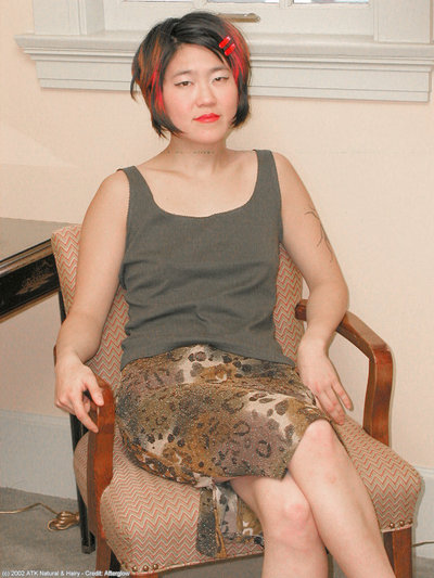 Teen Eastern model Cady flashing upskirt shorts in high heels