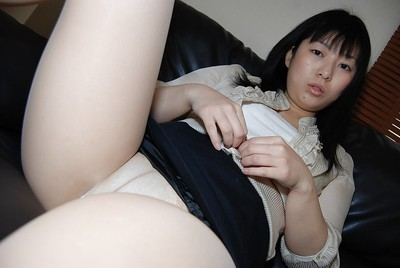 Exactly after a pine for day Oriental Shinobu Kawahara keen to to participate with her slit
