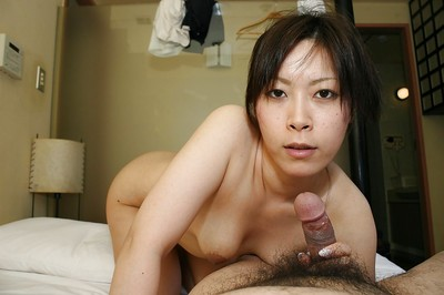 Passionate oriental cutie has some stick sucking, love-cage vibing and astonishingly getting joy