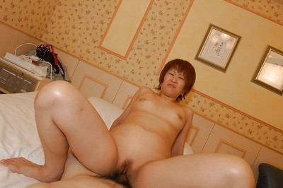 Chinese MILF Kyoko Nogi gives a facefucking with egg licking and acquires shafted heavy