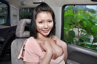 Eastern lady Aya Uchiyama receives involved keen to vibrators enjoy in the car