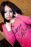 Japanese dear Maya Yasuhara undressing and vibing her wavy gash