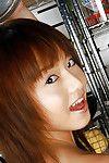 Breasty Japanese young darling Akiho Yoshizawa slipping off her