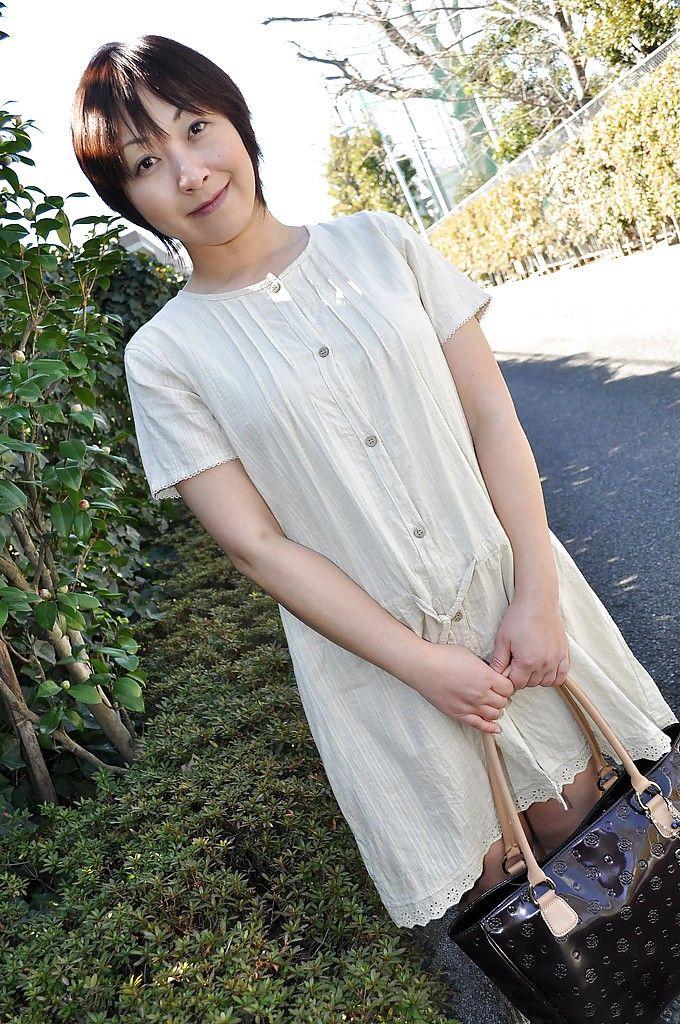 Masae shimatani japanese mature wanting a rough sex - 3 part 8