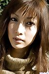Joyful Chinese teeny model idly delicious off all of her
