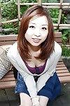 Joyous Chinese adolescent Mariko Miyazawa getting as was born and heavenly washroom
