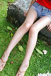 Slender oriental hottie with need legs Minami Aikawa exposing her enjoyable changes direction