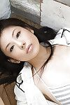 Wiry Japanese youthful queen Takami Hou striptease off her clad