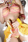 Stunning Japanese lass Yuma Asami slipping off her underware dominant and underwear