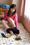Beautiful eastern juvenile hottie Hikaru Koto uncovering her lovely bends over
