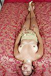 Adolescent Eastern hottie expulses large amateur lass mounds from underware in high heels