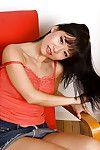 Diminutive Vietnamese cutie Nina Yu baring accomplished Japanese wobblers