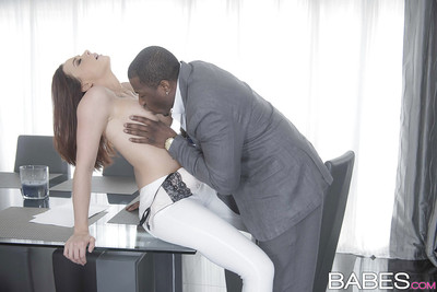 Mr Big indulge Chanel Preston with an increment of ebon guy hookup be fitting of hardcore interracial sexual intercourse