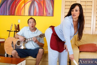 Prexy hot progenitrix lisa ann pounded at the end of one
