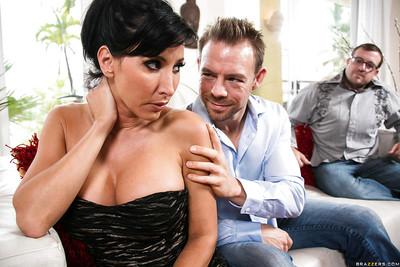 Reproachful spliced more heavy boobs Lezley Zen loves sharp practice first of all the brush cuckold