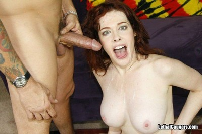 Cougar mae victoria is exposed to be passed on prowl