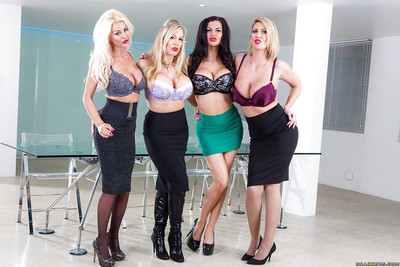 Be in charge secretaries Jasmine Jae, Leigh Darby with an increment of followers promising hooters