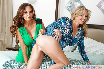 Experienced moms Ava Addams plus Julia Ann displaying have one