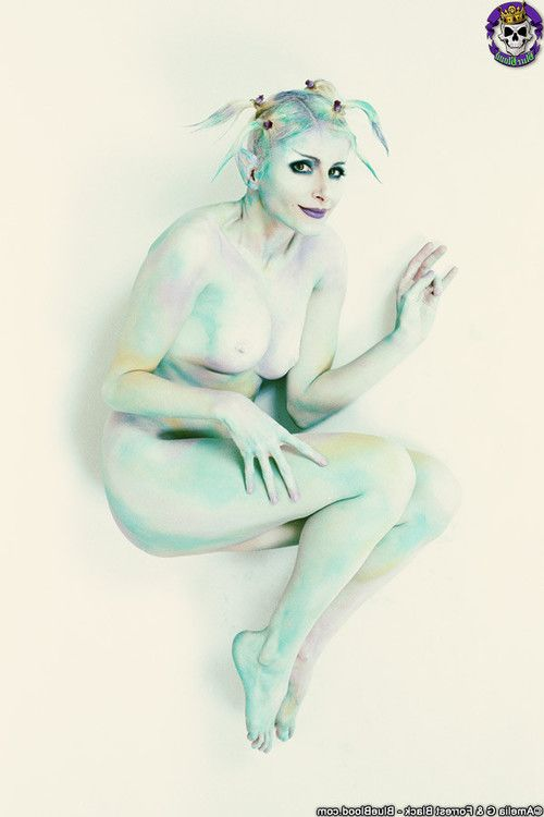Untamed creative imagining blonde art nudes