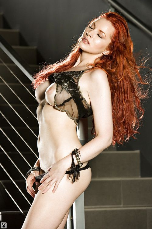 Titsy redhead coed Kinsey Elizabeth slipping off her dom and underclothing