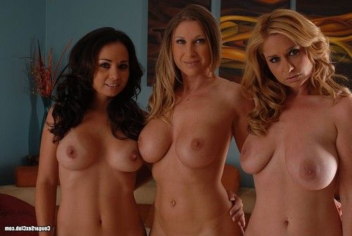 Titsy cougars posing exposed