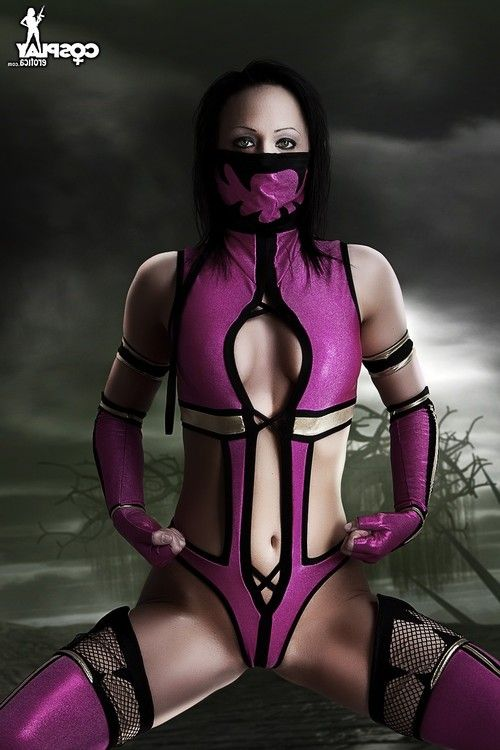 Cosplayerotica  milena mortal kombat as mother gave birth cosplay
