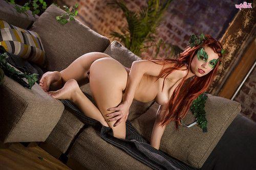 Redhead doll Aidra Fox revealing massive regular adolescent pornstar mambos