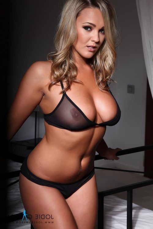 Jodie removes clothes without her untamed ebon look at in duration lingerie.