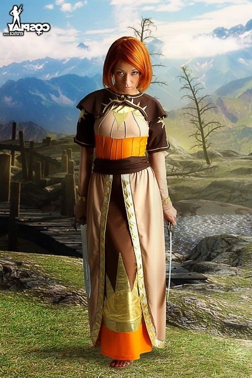 Leliana dragon age origins without clothes cosplay