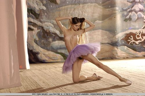 When ballerina s grow up they don t stop dancing.