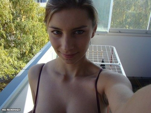Breasty exgirlfriend posing