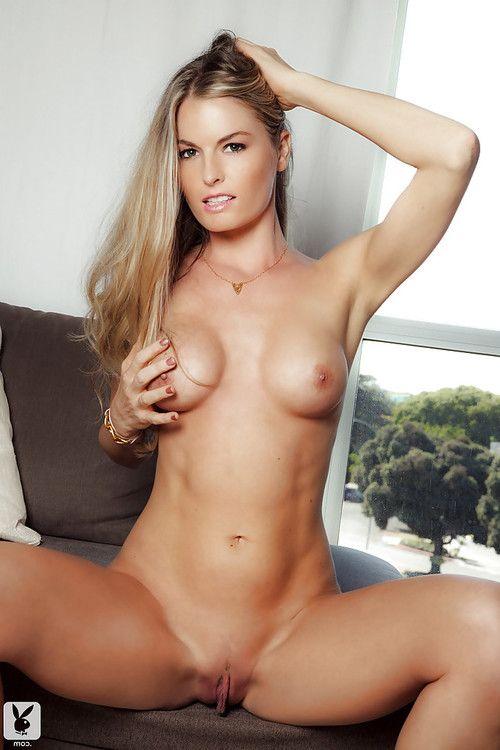 Loveable centerfold girl Lena Erickson attains rid of her underware