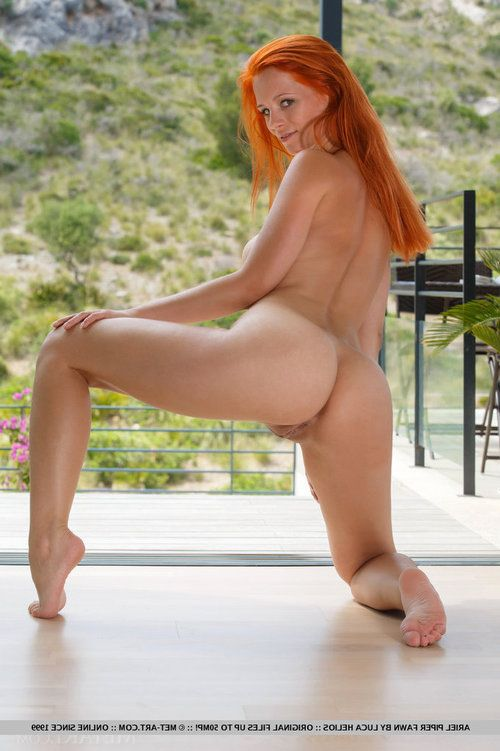 Pretty redhead Ariel Piper Fawn freeing valuable MILF bazookas despite the fact glam widen