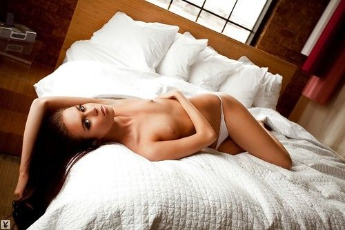 Steamy dark hair undressing and demonstrating her perfect graceful body