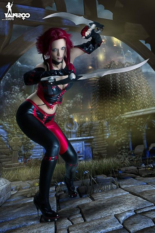 Bloodrayne cosplay