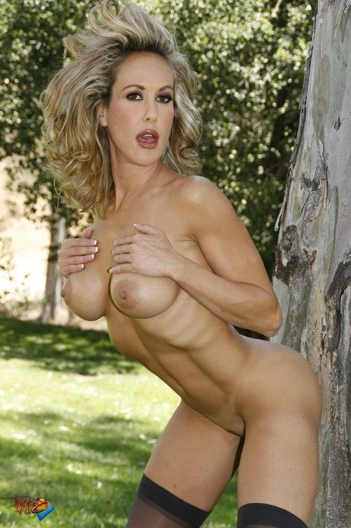 Brandi love as was born in the park