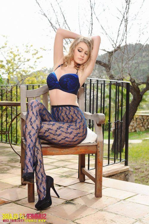 Hot Blue Panty Cylinder