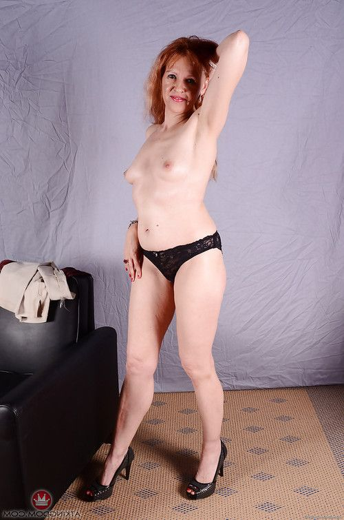 Grown up redhead hottie with insignificant woman passports sliding underwear away from skinhead bawdy cleft