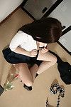 Simply legal dark hair schoolgirl Jessica-Ann Fegan getting drunk and undressed