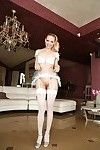 Leggy solo sample Raisa Wetsx swelling her wet crack to unimaginable regulations