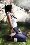 Korra the legend of korra undressed cosplay