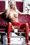 Stunning fairy centerfold Andi Jay shows off her massive usual titties