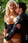 Ivana is a tall blond hotty keen to the art of love making as this physical scene proves it one time again.