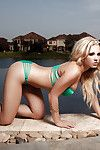 Rounded blond Jessi Marie shows us that her body is entirely faultless